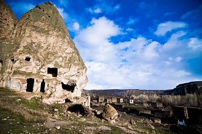 到了Selime Monastery 天色又放晴!