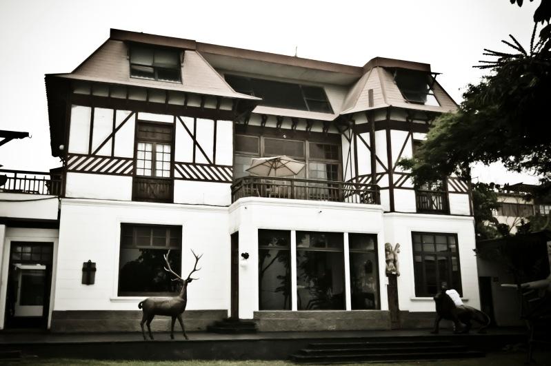 上百年歷史的大宅