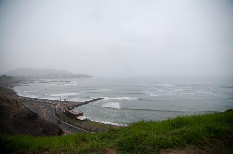 太平洋就在腳下