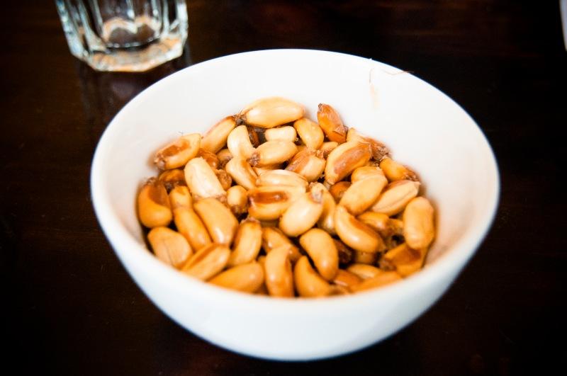 秘魯餐廳常見的餐前小食 ﹣ 烘玉米