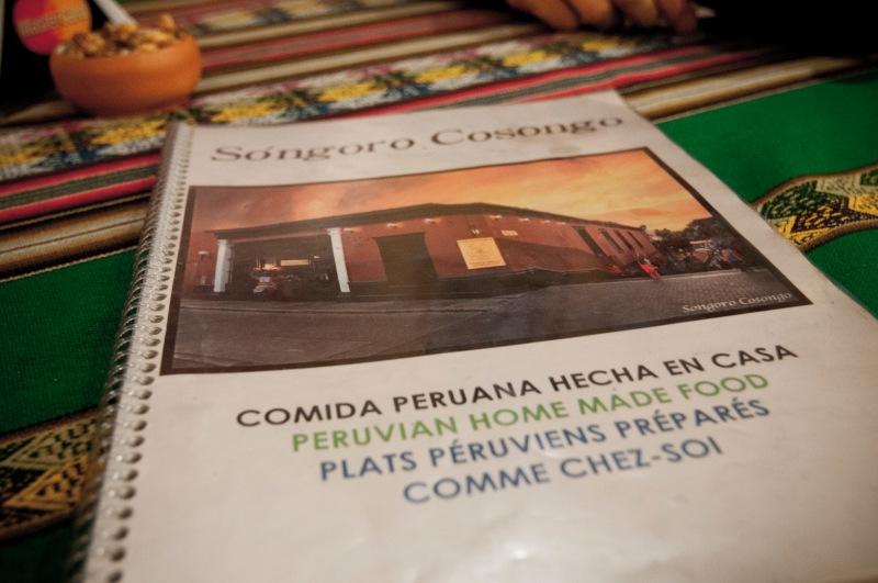 Songoro Cosongo Restaurant