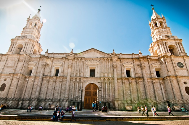 The Cathedral Arequipa