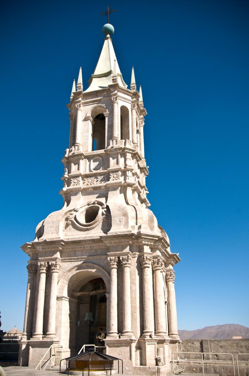 教堂的鐘樓