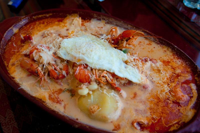 camarones湯的份量大得嚇了我們一跳