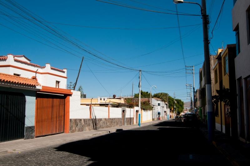 Yanahuara是一個寧靜的住宅區