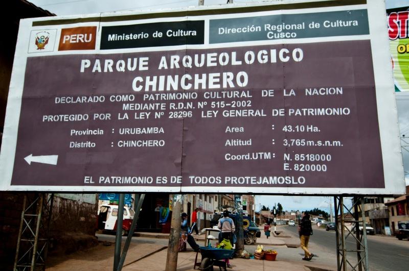 第一站Chincero位於海拔3,765m