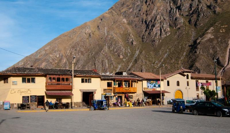 Ollantaytambo 的小型Plaza de Armas