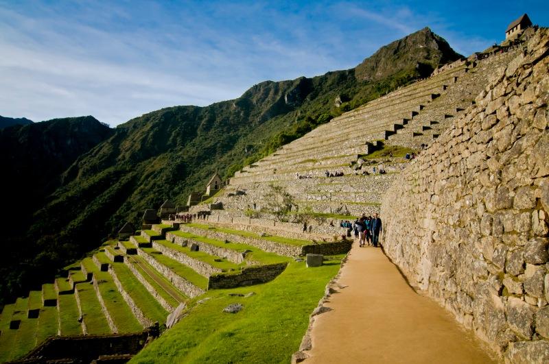 5月秘魯雨季剛過,又未到旺季,是最佳月份前往旅遊,旺點如Machu Picchu 遊客疏落
